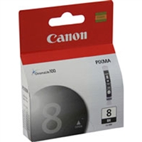 Canon 0620B002 (CLI-8Bk) OEM Black Ink Cartridge