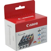 Canon 0620B010 (CLI-8) OEM Black & Color Inkjet Cartridge Multipack