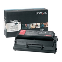 Lexmark 08A0477 OEM High Yield Black Toner Cartridge