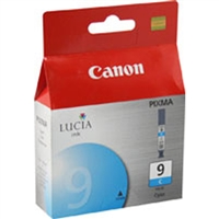 Canon 1035B002 (PGI-9C) OEM Cyan Ink Cartridge