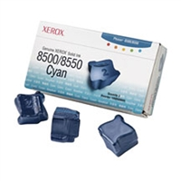 Xerox 108R00669 OEM 3 Pack Cyan Ink Sticks