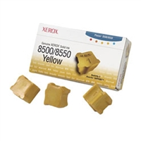 Xerox 108R00671 OEM 3 Pack Yellow Ink Sticks