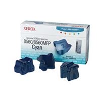 Xerox 108R00723 OEM 3 Pack Cyan Ink Sticks