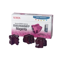 Xerox 108R00724 OEM 3 Pack Magenta Ink Sticks
