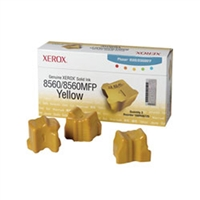 Xerox 108R00725 OEM 3 Pack Yellow Ink Sticks