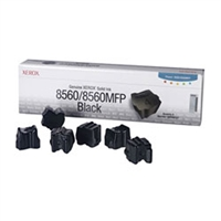 Xerox 108R00727 OEM 6 Pack Black Ink Sticks