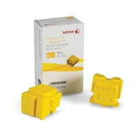 Xerox ColorQube 8570 Series 108R00928 OEM Yellow Ink Sticks (2)