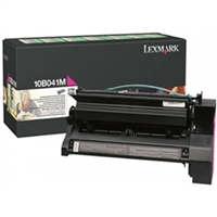 Lexmark 10B041M OEM Magenta Return Program Toner Cartridge