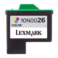 Lexmark 10N0026 OEM Color Ink Cartridge