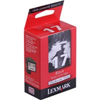 Lexmark 10N0217 OEM Moderate Yield Black Ink Cartridge