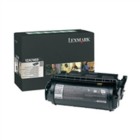 Lexmark 12A7469 OEM Return Program Extra High Yield For Label Applications Toner Cartridge