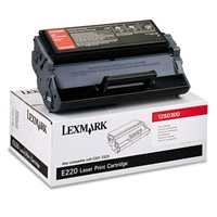 Lexmark 12S0300 OEM Black Toner Cartridge