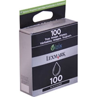 Lexmark 14N0820 (No. 100) OEM Black Return Program Ink Cartridge