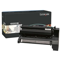 Lexmark 15G031K OEM Black Toner Cartridge