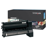 Lexmark 15G032K OEM High Yield Black Toner Cartridge
