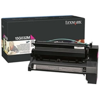 Lexmark 15G032M OEM High Yield Magenta Toner Cartridge
