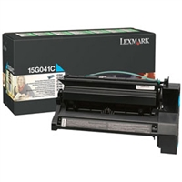 Lexmark 15G041C OEM Cyan Return Program Toner Cartridge