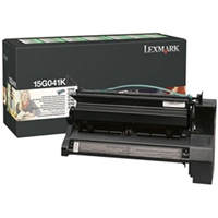 Lexmark 15G041K OEM Black Return Program Toner Cartridge