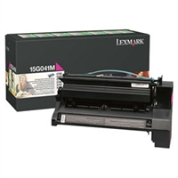 Lexmark 15G041M OEM Magenta Return Program Toner Cartridge