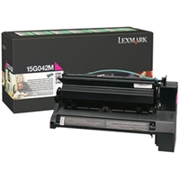 Lexmark 15G042M OEM Return Program High Yield Magenta Toner Cartridge