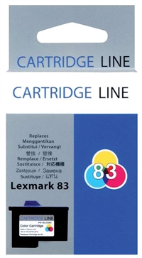 Lexmark 18L0042 (#83) OEM Color Ink Cartridge