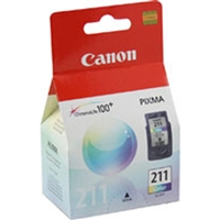 Canon 2976B001 (CL-211) OEM Color Ink Cartridge