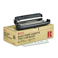 Ricoh 339587 (Type 1110D) OEM Black Toner Cartridge