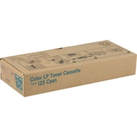 Ricoh 400969 (Type 125) OEM Cyan Toner Cartridge