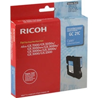 Ricoh 405533 OEM Cyan Ink Cartridge