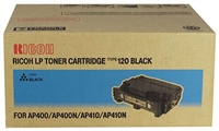 Ricoh 407000 (Type 120) OEM Black Toner Cartridge