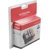 Canon 4479A230 OEM Combo Pack (K/C/M/Y) Ink Cartridge