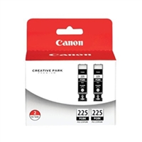 Canon 4530B007 (PGI-225) OEM 2 Black Inkjet Cartridge Multipack