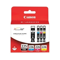 Canon 4530B008 OEM 4 Color Inkjet Cartridge Multipack