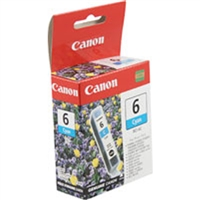 Canon 4706A003 (BCI-6C) OEM Cyan Ink Cartridge