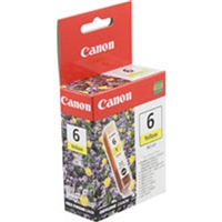 Canon 4708A003 (BCI-6Y) OEM Yellow Ink Cartridge