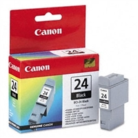 Genuine Canon BCI-24BK Black Ink Cartridge - OEM