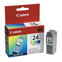 Genuine Canon BCI-24C Color Ink Cartridge - OEM