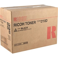 Ricoh 885208 (Type 2110D) OEM Black Toner Cartridge