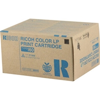 Ricoh 888445 (Type 160) OEM Cyan Toner Cartridge