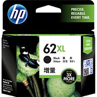 Genuine HP C2P05AN (HP 62XL) High Yield Black Ink Cartridge - OEM