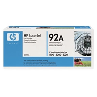 HP C4092A (HP 92A) OEM Black Toner Cartridge