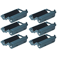 Brother PC-201 Compatible Thermal Cartridge Six Pack Value Bundle