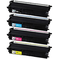 Brother TN433 Compatible High Yield Toner Cartridge Color Set