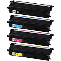 Brother TN439 Compatible Ultra High Yield Toner Cartridge Color Set