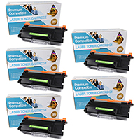 Brother TN850 Compatible Toner Cartridge 5-Pack