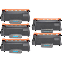 Brother TN890 Compatible Toner Cartridge Ultra High Yield 5-Pack