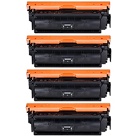 Canon 040H Compatible High Yield Toner Cartridge Color Set