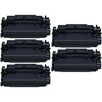 Canon 041H Compatible High Yield Toner Cartridge 5-Pack