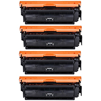 Canon 046H Compatible High Yield Toner Cartridge Color Set