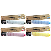 Canon GPR-51 Compatible Toner Cartridge Color Set